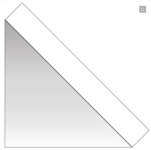 """Home & Hobby Collection 1.25"""" Regular View Clear Mounting Corners by 3L - 250 Pieces"""