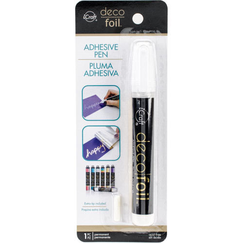 iCraft Collection Deco Foil Adhesive Pen by Thermoweb - .34 fl. oz.