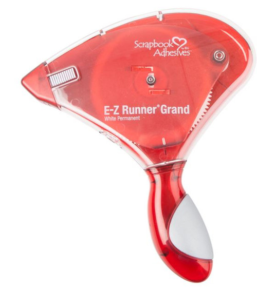 """E-Z Runner Grand Refillable Permanent Adhesive Strips Dispenser by Scrapbook Adhesives - 150' x .3"""""""