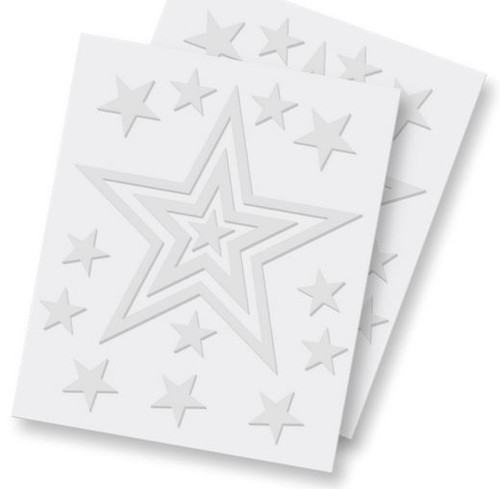 3D Adhesive Foam Stars by Scrapbook Adhesives - 48 Pieces