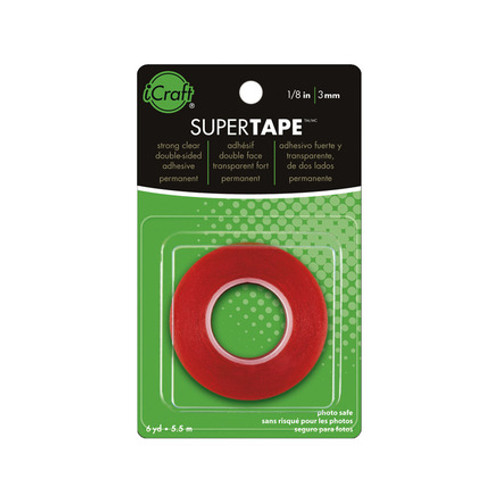 """iCraft SuperTape Collection Permanent Adhesive by Therm-O-Web - 1/8"""" x 6 Yards"""