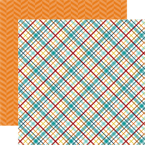 Bark Collection Puppy Plaid 12 x 12 Double-Sided Dog Scrapbook Paper Alisha Gordon & Echo Park Paper