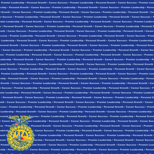 FFA - Future Farmers of America Collection FFA Words 12 x 12 Double-Sided Scrapbook Paper by It Takes Two
