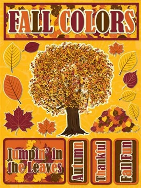 Signature Series Collection Fall Colors 5 x 6 Scrapbook Embellishment by Reminisce