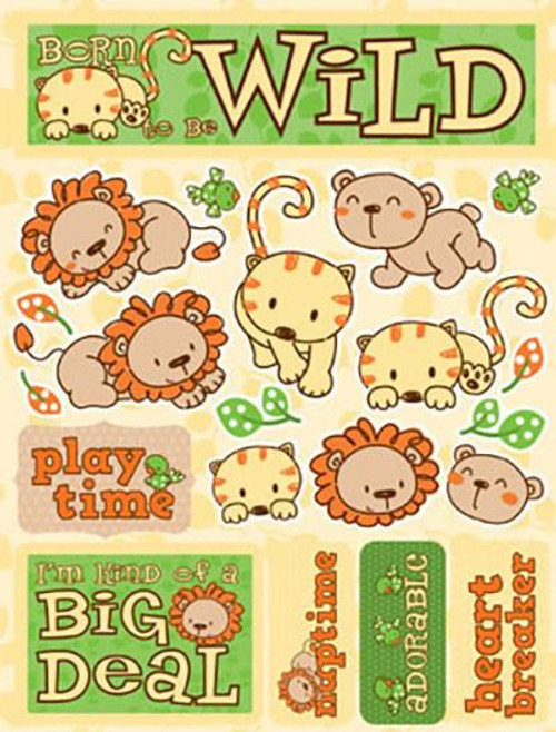 Signature Series Collection Born To Be Wild 5 x 6 Scrapbook Embellishment by Reminisce