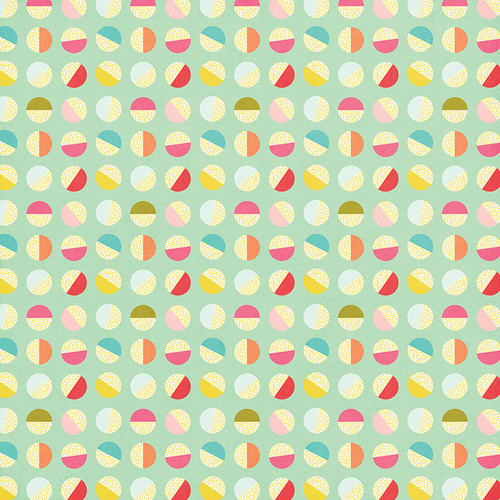 For The Love Of Summer Collection Good Times 12 x 12 Double-Sided Scrapbook Paper by Photo Play Paper