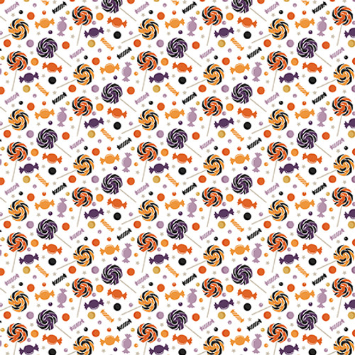 Bewitched Collection Trick or Treat 12 x 12 Double-Sided Scrapbook Paper by Echo Park Paper
