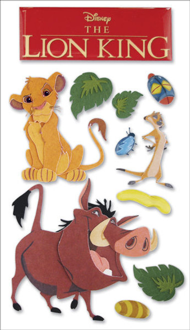Disney The Lion King Dimensional Scrapbook Embellishment by EK Success