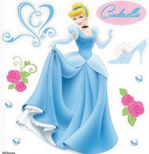 Disney Cinderella Collection Cinderella Scrapbook Embellishment by EK Success