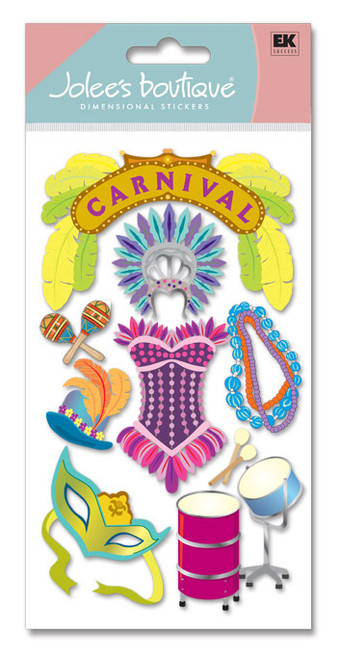 Carnival Scrapbook Embellishment by Jolee's Boutique
