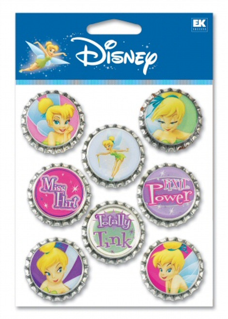 Disney Fairies Collection Tinker Bell Bottle Cap Set by EK Success