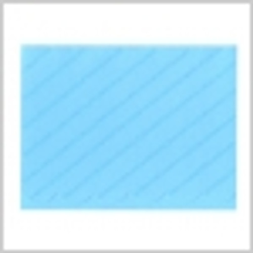 Scalloped Edge Blue Glitter A2 Cards by DCWV - Pkg. of 5 cards & 5 envelopes