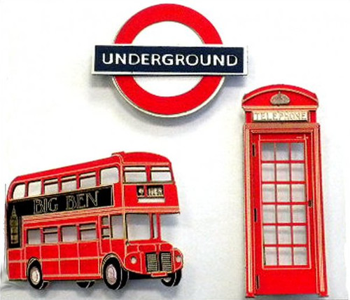 London Mini Laser Cuts by Paper Wizard