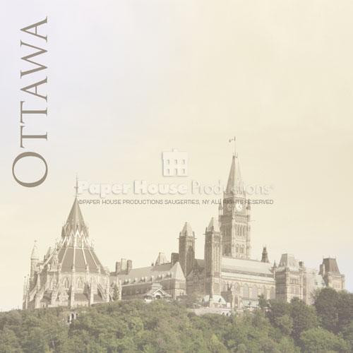 Canada Collection Ottawa 12 x 12 Scrapbook Paper by Paper House Productions