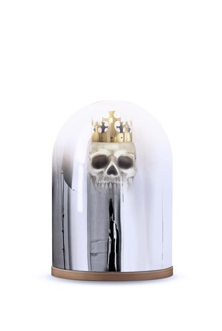 Superb King Arthur Mirror Dome Table Lamp ...