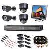 2 Indoor / 2 Outdoor Analog Camera CCTV Surveillance Kit