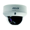 Pelco Outdoor Fixed Dome Camera, High Resolution, Varifocal, 3.0 to 9.0 mm Lens