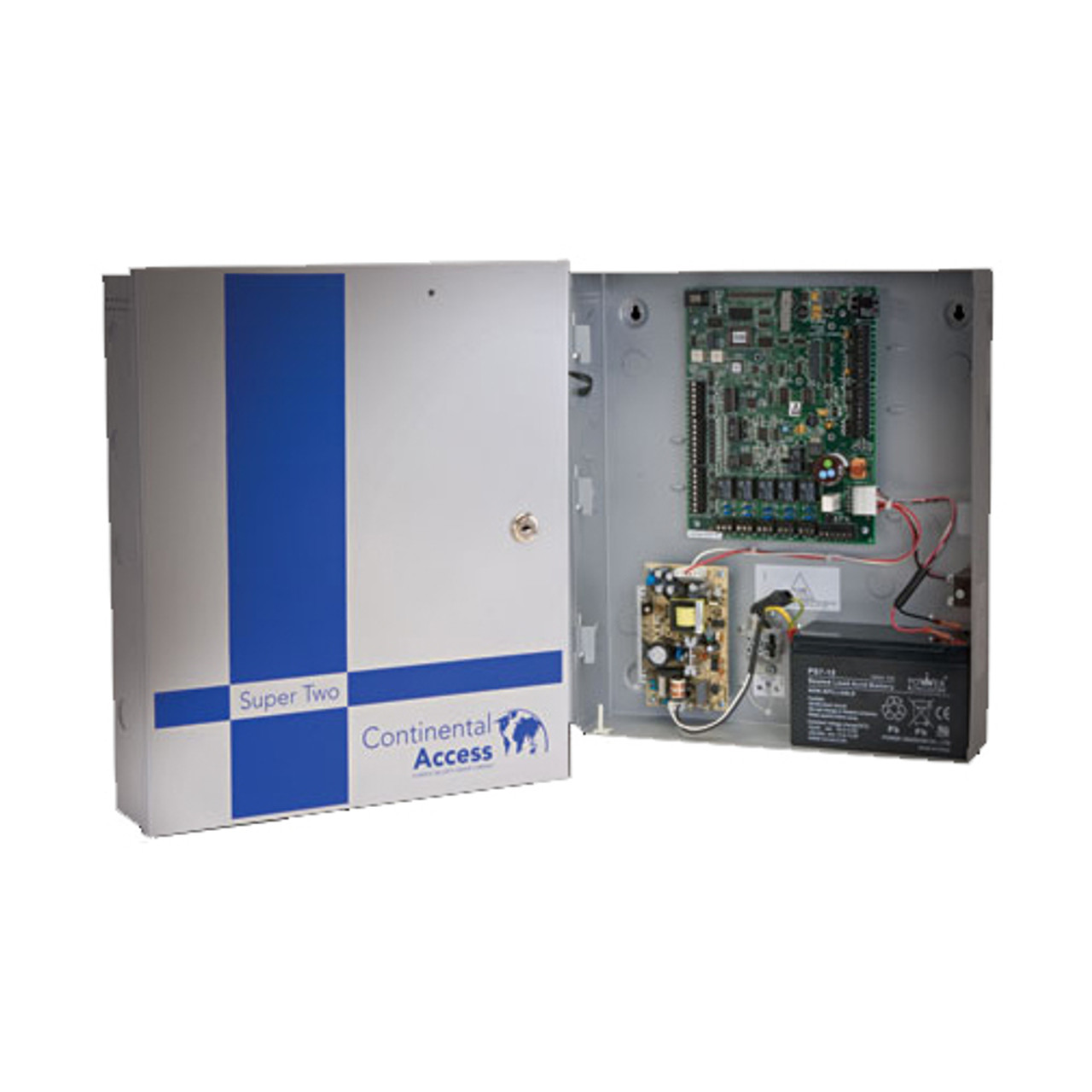 SuperTwo Control Panel - 2 Door Controller  sc 1 st  Smarter Building Tech & CICP1300 Continental Access SuperTwo Control Panel - 2 Door Controller