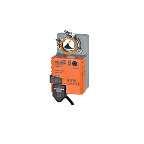 Belimo Damper Actuator - Damper Rotary, 45in-lb, SR(2-10V), 24V