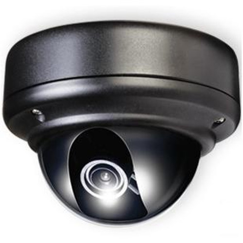 Weather Rated Vandal X Outdoor Day/Night Dome Camera + Heaters and Fan (Black) 1