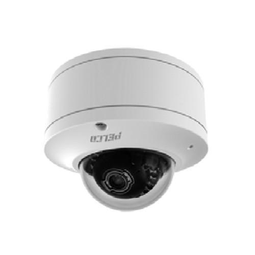 Pelco Sarix Indoor Surface Mount IP Camera - 3~9mm Lens, White, 1MPx, WDR, Low-Light