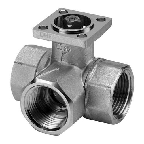 Belimo 1-1/2 in, Cv 19, 3-Way, Ball Valve