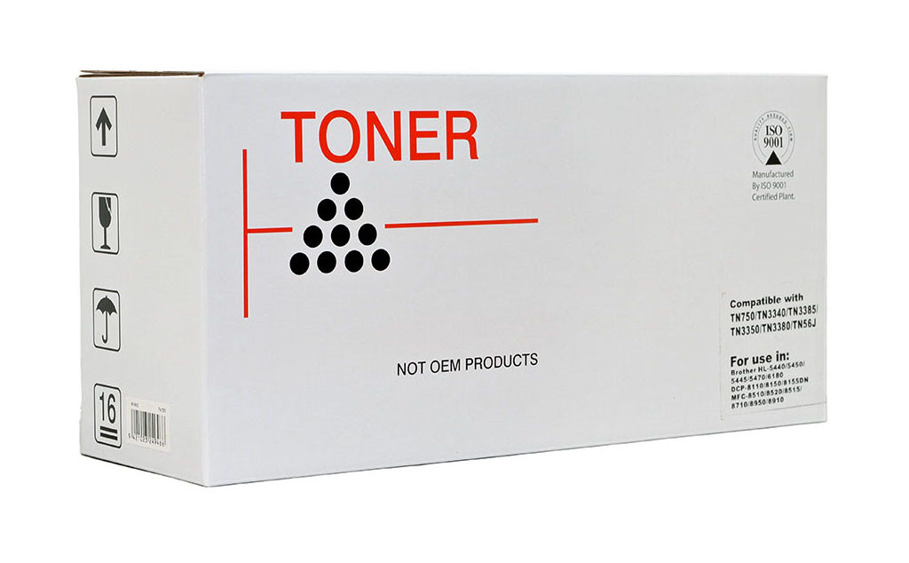 Brother Compatible TN3340 Black Toner Cartridge (TN3340)