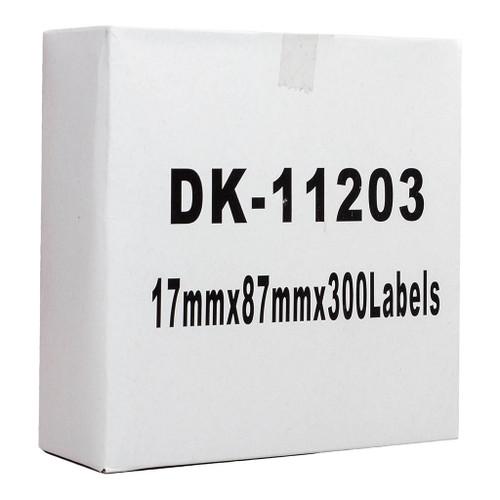 Brother Compatible DK Label Standard Address 17 x 87mm 300 Labels