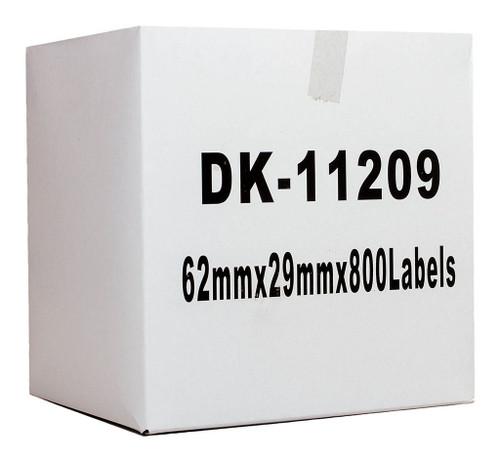 Brother Compatible DK Label Standard Address 29 x 62mm 800 Labels