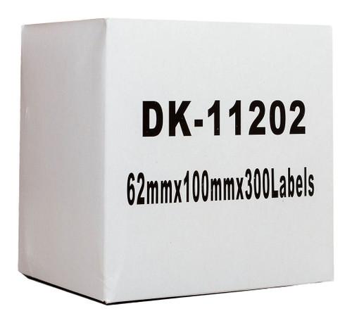 Brother Compatible DK Label Standard Address 62 x 101mm 300 Labels