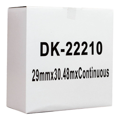 Brother Compatible DK Paper Tape 29mmX30M