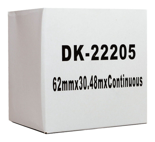 Brother Compatible DK Paper Tape 62mmX30M
