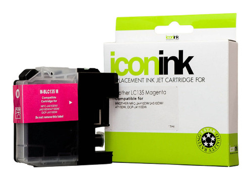 Brother Compatible LC135 Magenta Ink Cartridge