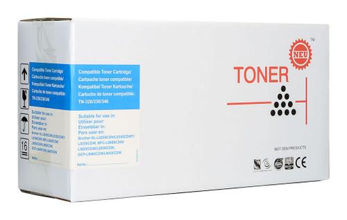 Brother Compatible TN346 Cyan Toner Cartridge