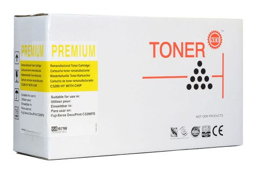 Fuji Xerox Compatible C3290FS Yellow Toner Cartridge (CT350570)
