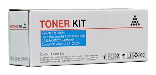 Fuji Xerox Compatible CP105/205 Cyan Toner Cartridge (CT201592)