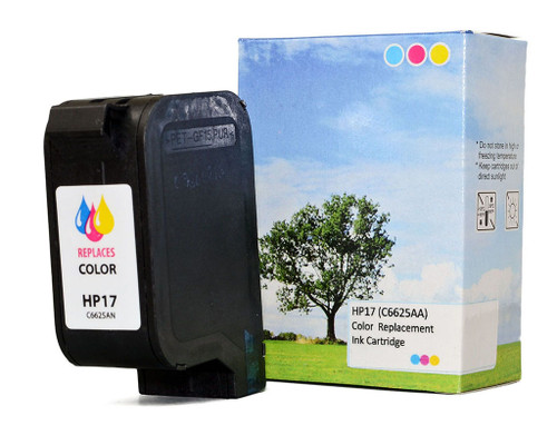 HP Remanufactured 17 Colour Ink Cartridge (C6625AA
