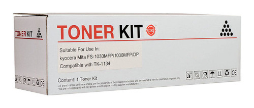 Kyocera Compatible TK-1134 Black Toner Cartridge