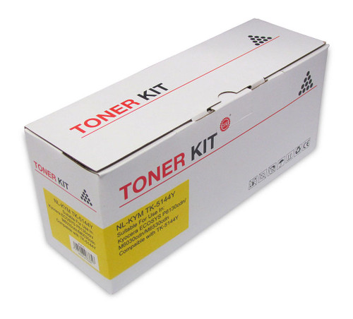 Kyocera Compatible TK5144 Yellow Toner Cartridge