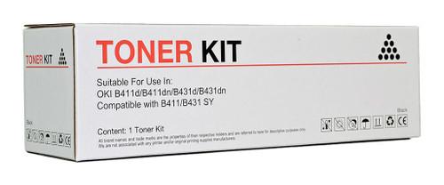 OKI Compatible B411/B431 Black Toner Cartridge (44574703)