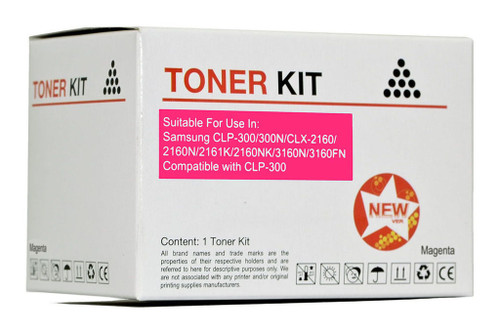 Samsung Compatible CLP-300 Magenta Toner Cartridge