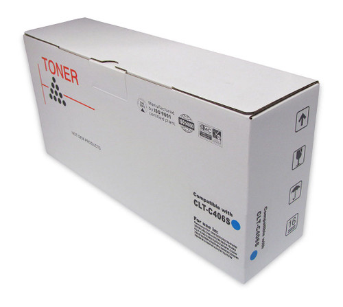 Samsung Compatible CLT-C406S Cyan Toner Cartridge