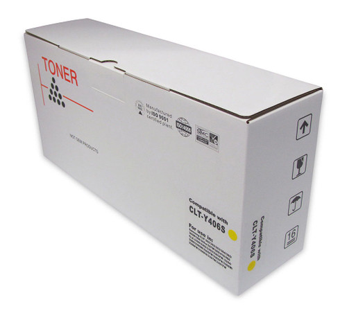 Samsung Compatible CLT-Y406S Yellow Toner Cartridge