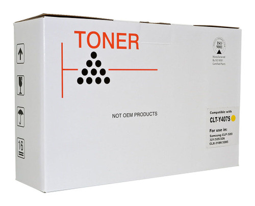 Samsung Compatible CLTY407S Yellow Toner Cartridge