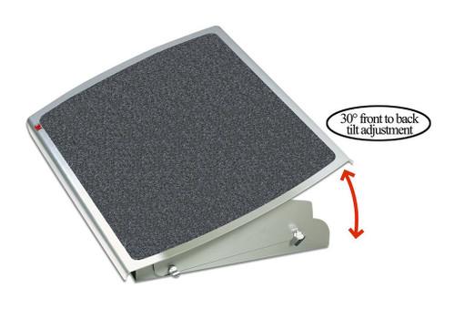 3M Footrest FR530CB Charcoal Adjustable