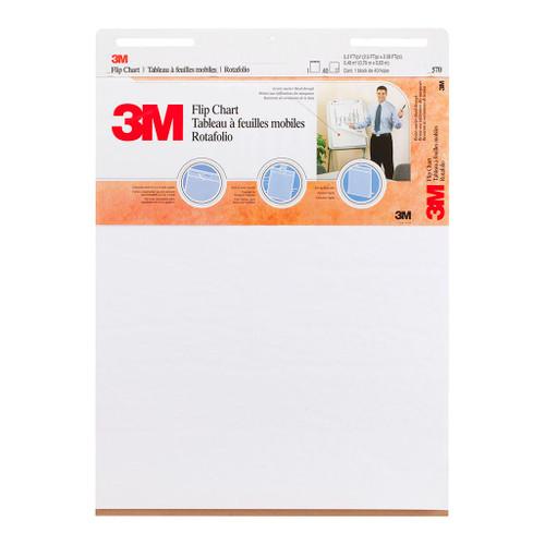 3M Flip Chart 570 White Non- Stick 635 X 762mm
