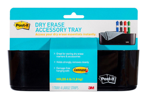 3M Post-It Whiteboard Tray DEFTRAY Dry Erase Accessory