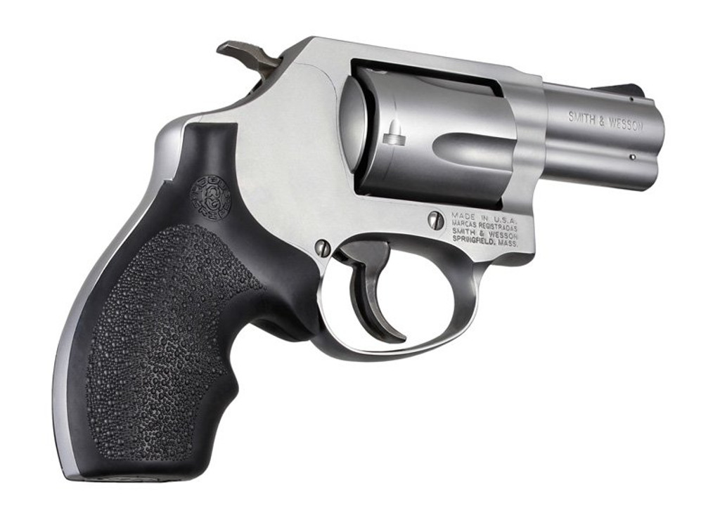 Hogue Smith & Wesson J Frame Round Butt Rubber Bantam Style Grip ...