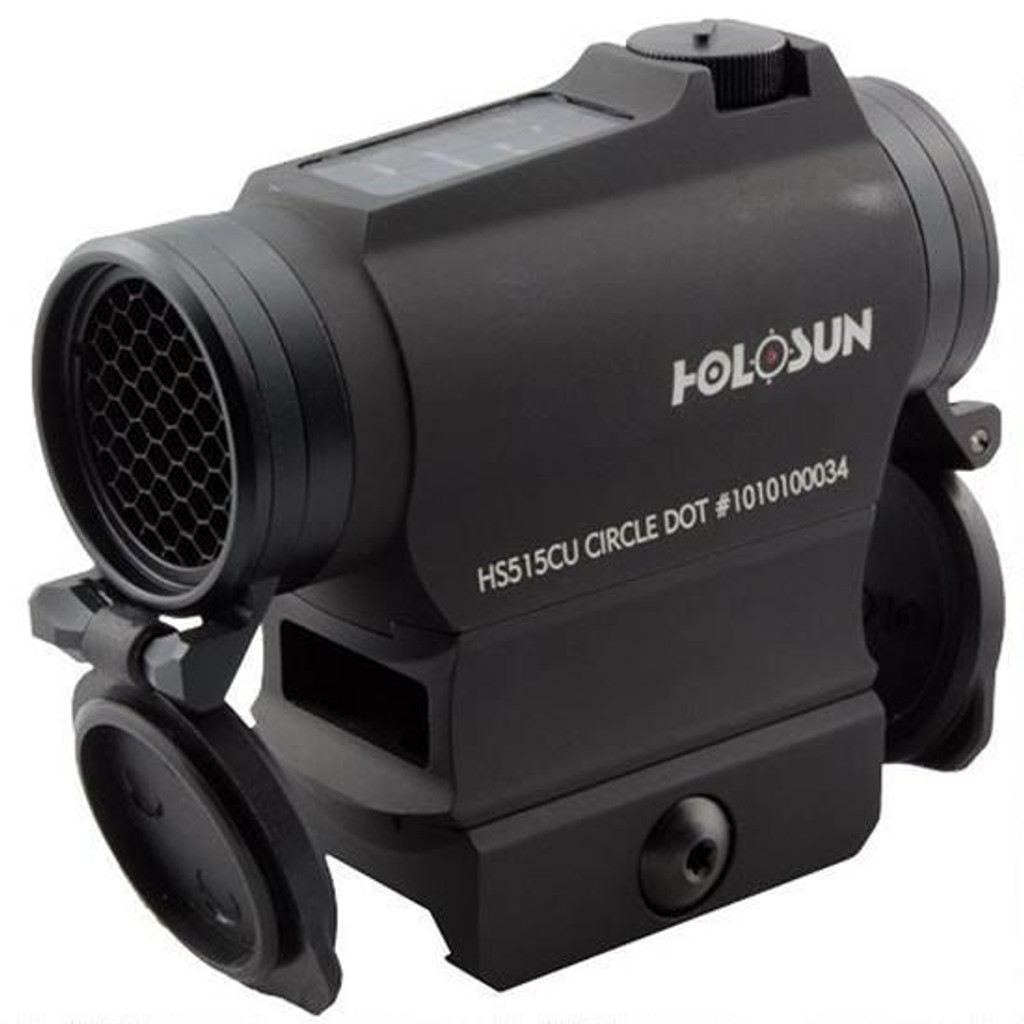 Holosun Micro Red Dot Sight Dual Reticle Solar & Battery Quick Release HS515CU 0760921087732