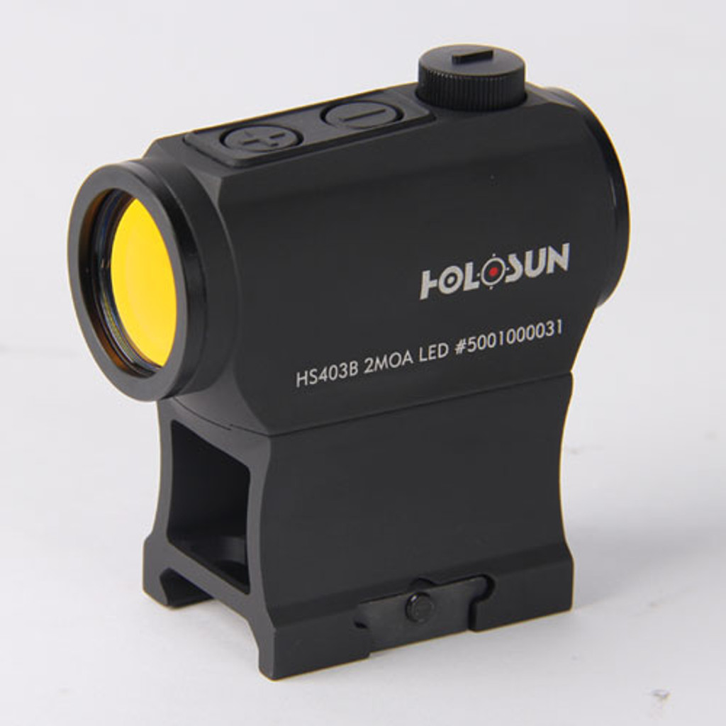 Holosun Micro Red Dot Sight (2 MOA) w/ Riser Paralow HS403B